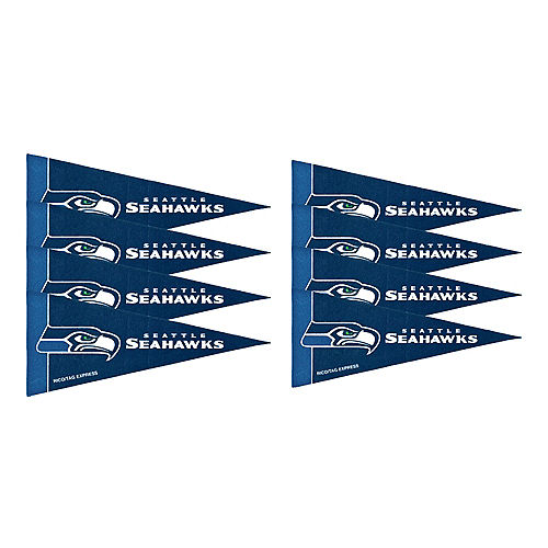 Seattle Seahawks Pennants 8ct Image #1