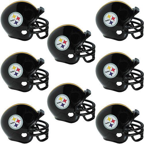 Pittsburgh Steelers Helmets 8ct Image #1