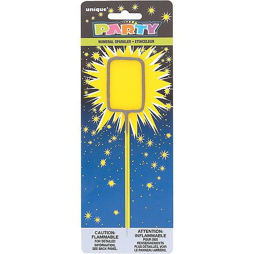 Number 0 Sparkler Image #1