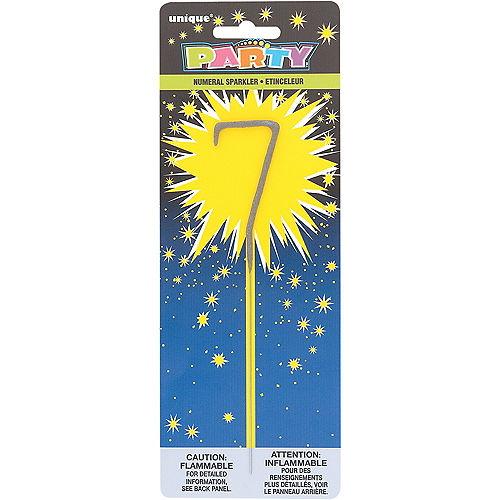 Number 7 Sparkler Image #1