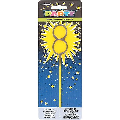 Number 8 Sparkler Image #1