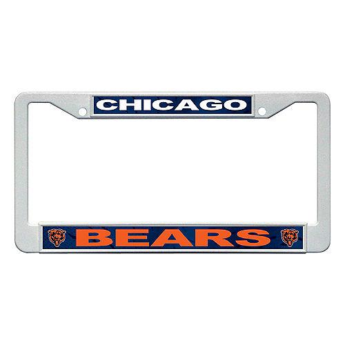 Chicago Bears License Plate Frame Image #1