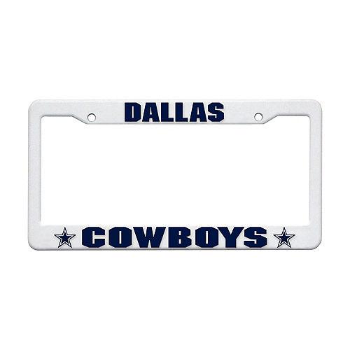 Dallas Cowboys License Plate Frame Image #1