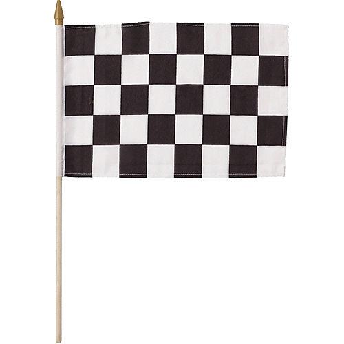 Black & White Checkered Flag Image #1