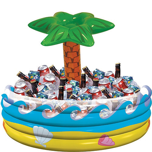 Inflatable Palm Tree Oasis Cooler Image #1