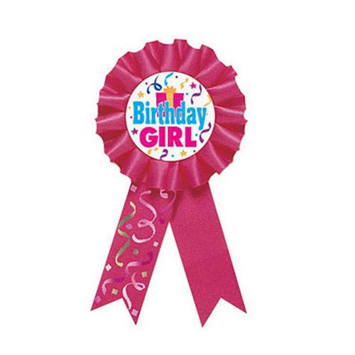 Birthday Girl Award Ribbon Image #1