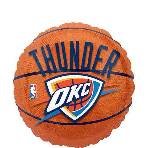 Oklahoma City Thunder Balloon - Basketball Image #1