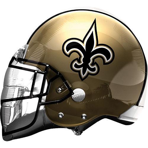 New Orleans Saints Balloon - Helmet Image #1