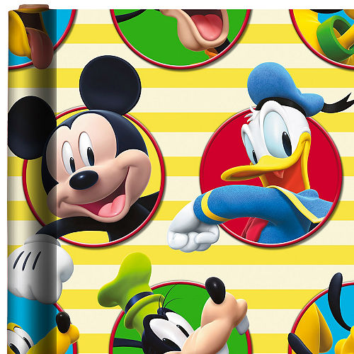 Mickey and The Roadster Racers Gift Wrap Image #1