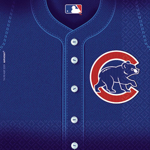 Chicago Cubs Lunch Napkins 36ct Image #1