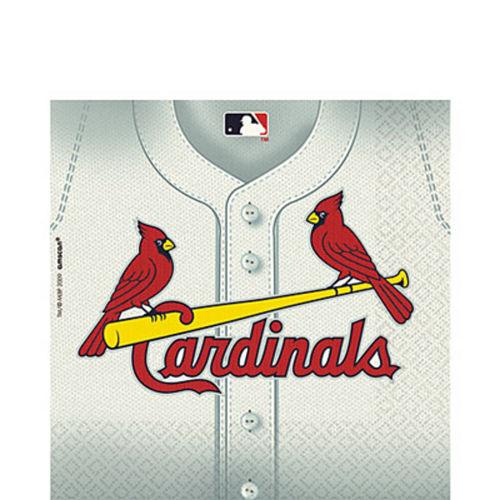 St. Louis Cardinals Lunch Napkins 36ct Image #1