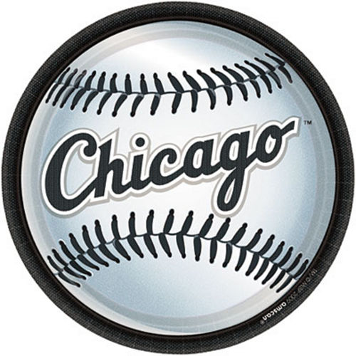 Chicago White Sox Lunch Plates 18ct Image #1