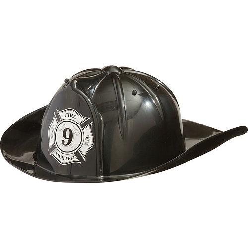 Black Firefighter Hat Image #1