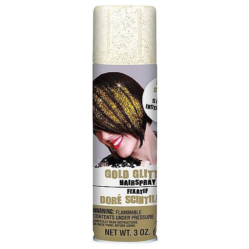 Glitter Gold Hair Spray Image #1