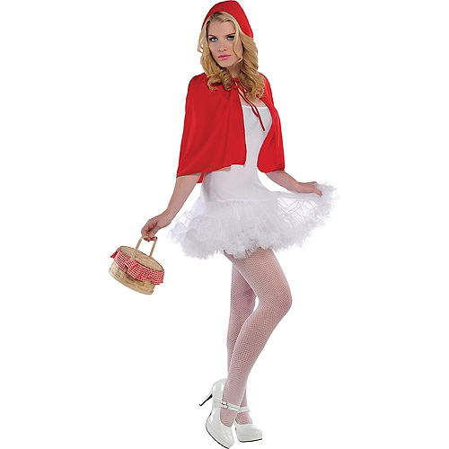 Adult Red Riding Hood Cape Image #1