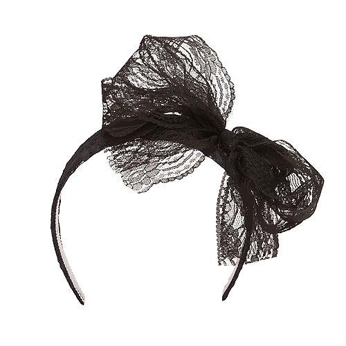 80s Black Headband Image #1