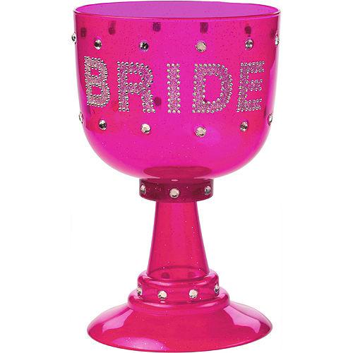 Rhinestone Bride Cup Image #1