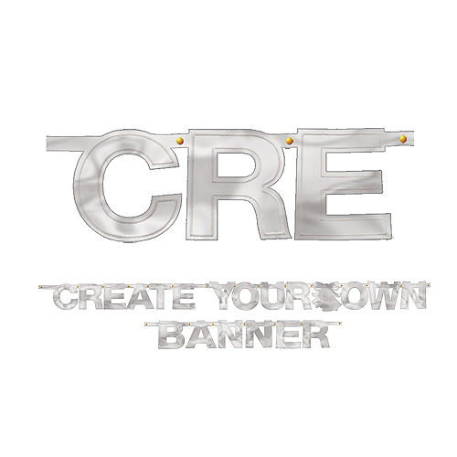 Create Your Own Banner Silver Image #1