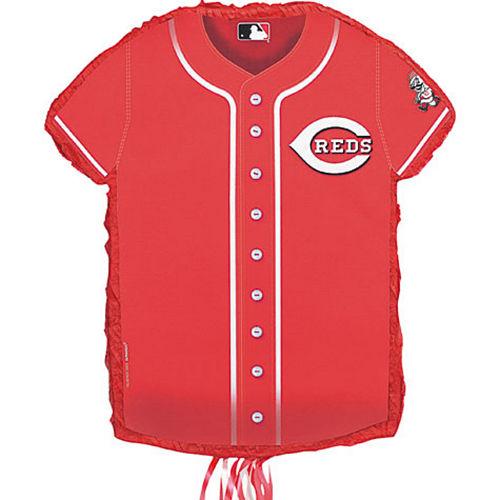 Pull String Cincinnati Reds Pinata Image #1
