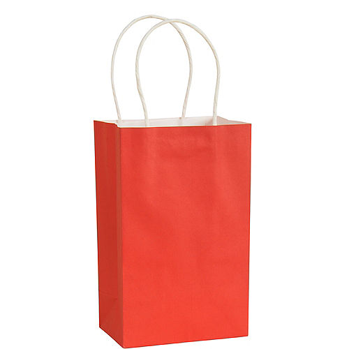 Small Red Paper Gift Bag Image #1