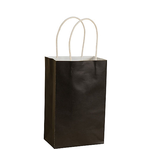 Small Black Paper Gift Bag Image #1