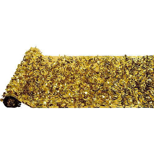 Gold Metallic Floral Sheeting Image #2