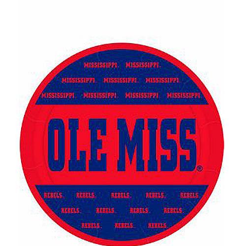 Ole Miss Rebels Dessert Plates 8ct Image #1