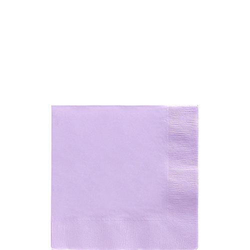 Lavender Beverage Napkins 50ct Image #1