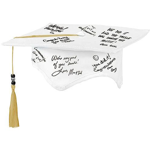Graduation Autograph Cap with Pen Image #1