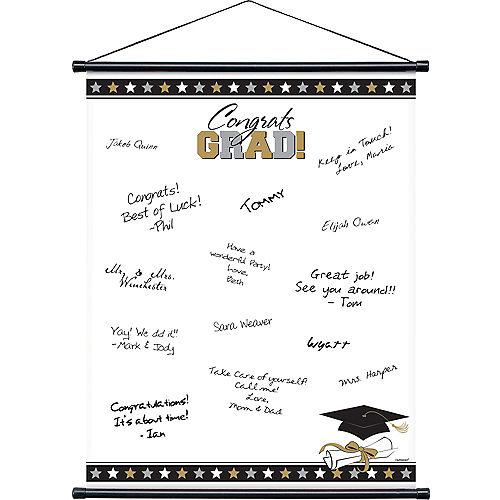 Graduation Autograph Scroll Image #1