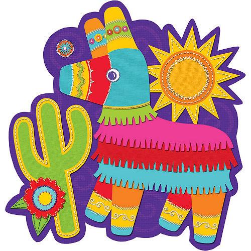 Cactus & Pinata Fiesta Cutout Image #1