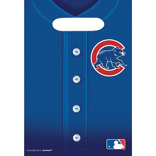 Chicago Cubs Favor Bags 8ct Image #1