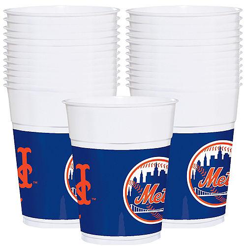 New York Mets Plastic Cups 25ct Image #1