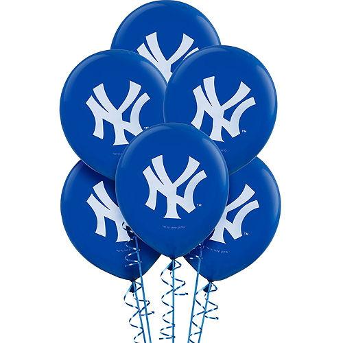 New York Yankees Balloons 6ct Image #1