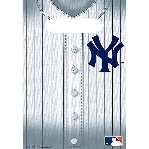 New York Yankees Favor Bags 8ct Image #1