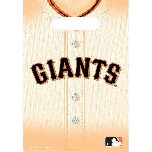 San Francisco Giants Favor Bags 8ct Image #1