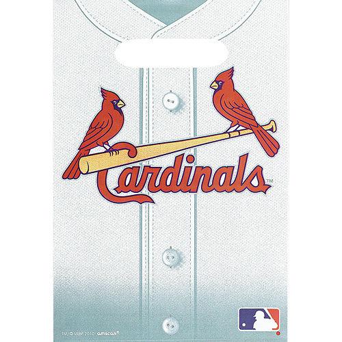 St. Louis Cardinals Favor Bags 8ct Image #1