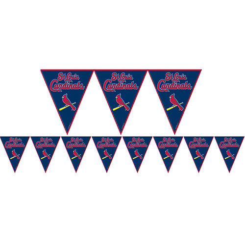 St. Louis Cardinals Pennant Banner Image #1