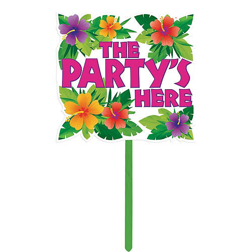 Summer Party Yard Sign Image #1