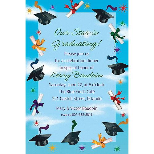 Custom Grad Spirit Invitations  Image #1