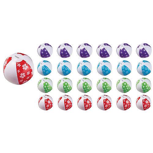 Inflatable Beach Balls 24ct Image #1