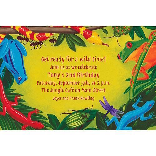 Custom Bugs & Reptiles Invitations Image #1