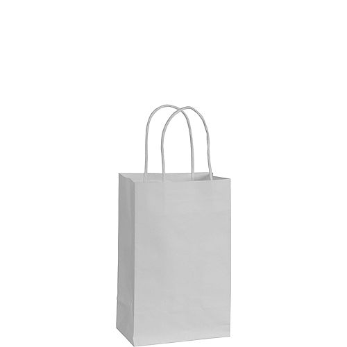 Medium White Kraft Bags 10ct Image #1