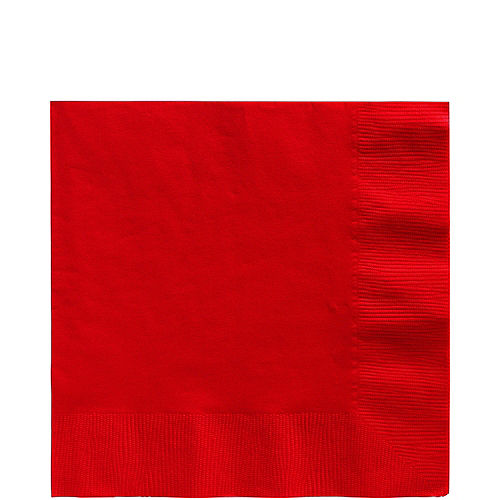 Red Lunch Napkins 50ct Image #1