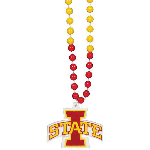 Iowa State Cyclones Pendant Bead Necklace Image #1