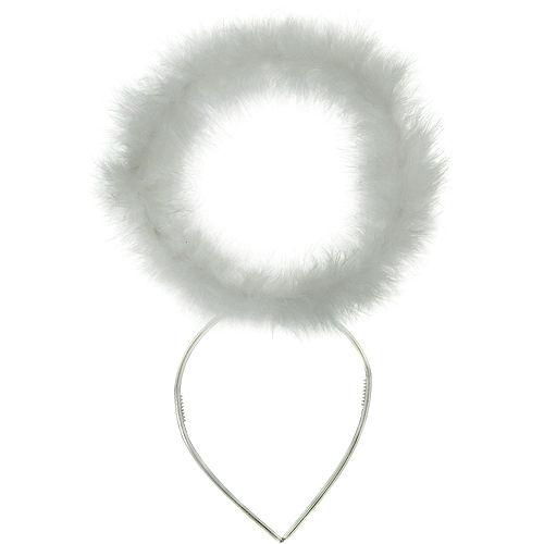 White Marabou Halo Image #3