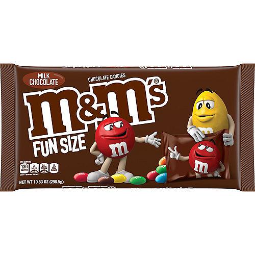 Milk Chocolate M&M's Fun Size Packs, 23ct Image #1