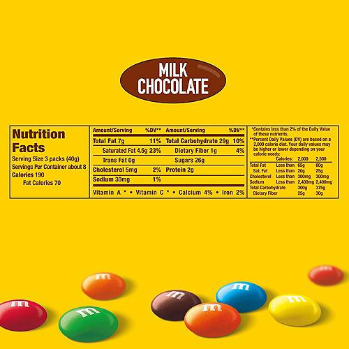 Milk Chocolate M&M's Fun Size Packs, 23ct Image #6