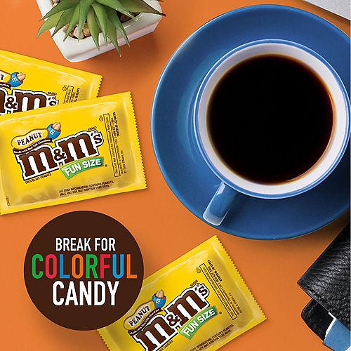 Milk Chocolate Peanut M&M's Fun Size Packs, 17ct Image #5