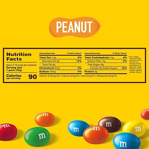 Milk Chocolate Peanut M&M's Fun Size Packs, 17ct Image #6